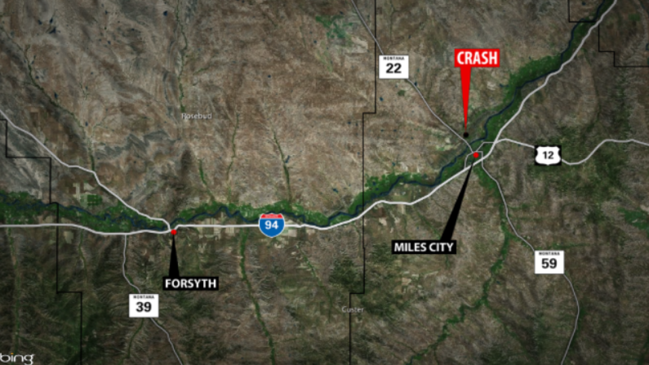 One man dead after crash near Miles City