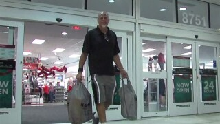Shoppers take advantage of overnight store hours