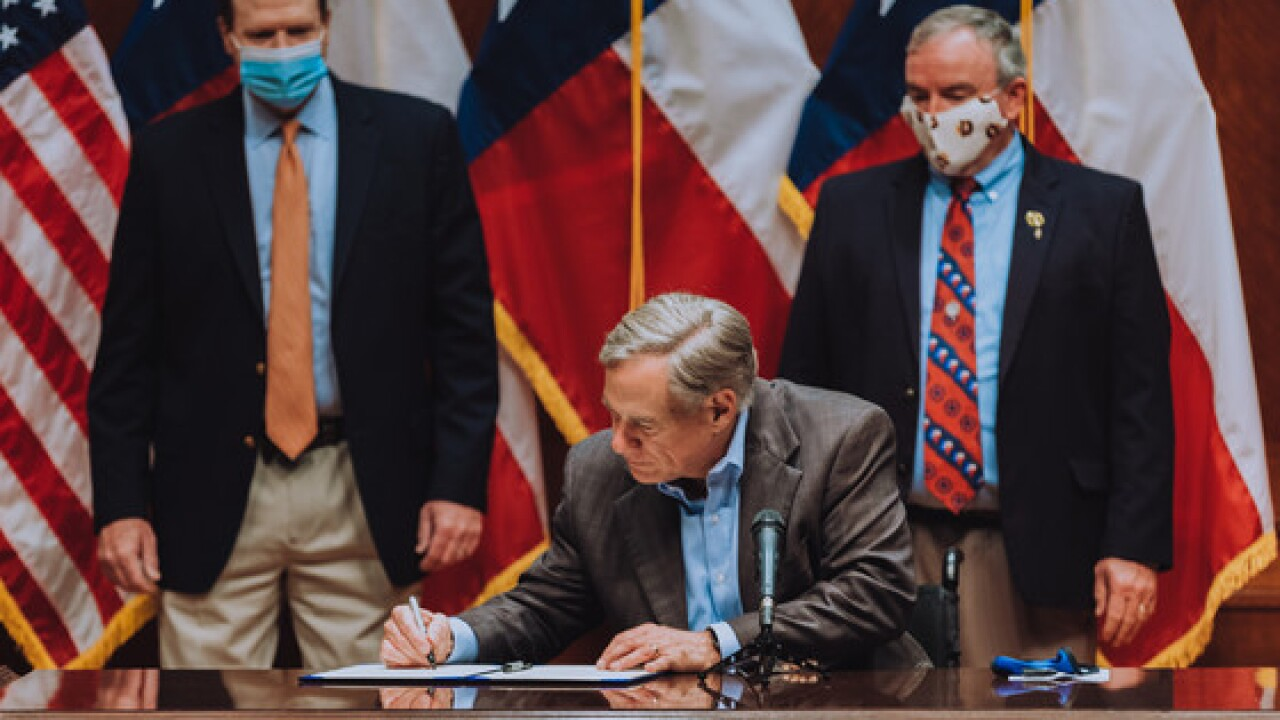 Governor Abbott Signing Of Shared Stewardship Agreement With Secretary Of Agriculture Sonny Perdue