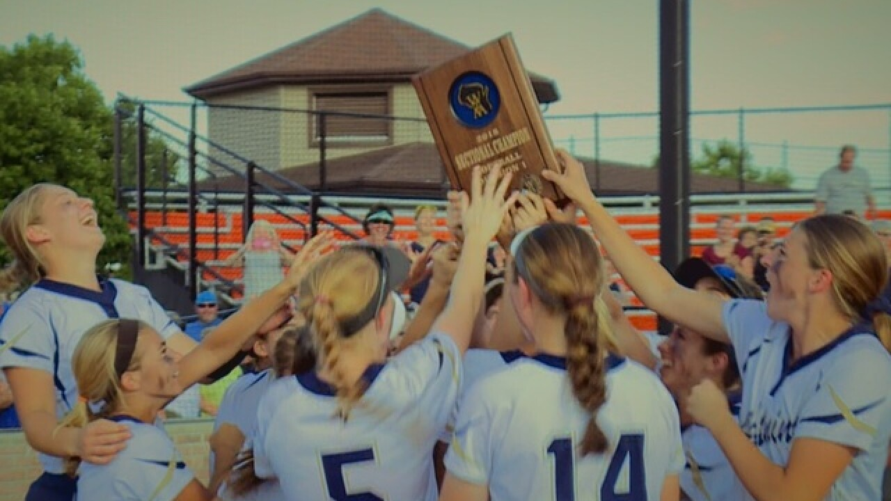 Appleton North softball wins section title, State bound for first time since 2007