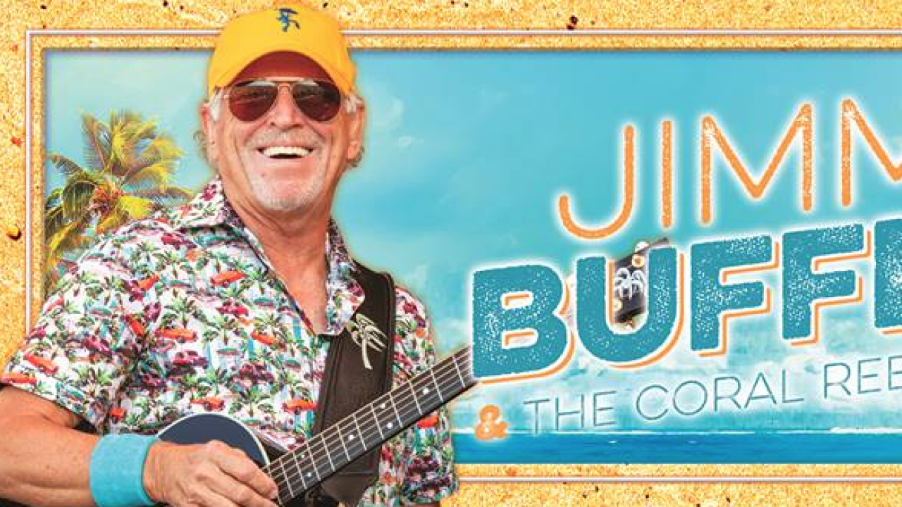 Jimmy Buffett to perform at DTE Energy Music Theatre for one night only