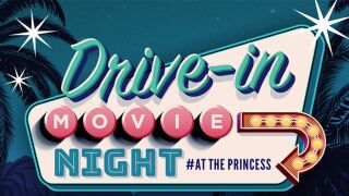 Drive-in at the Scottsdale Princess