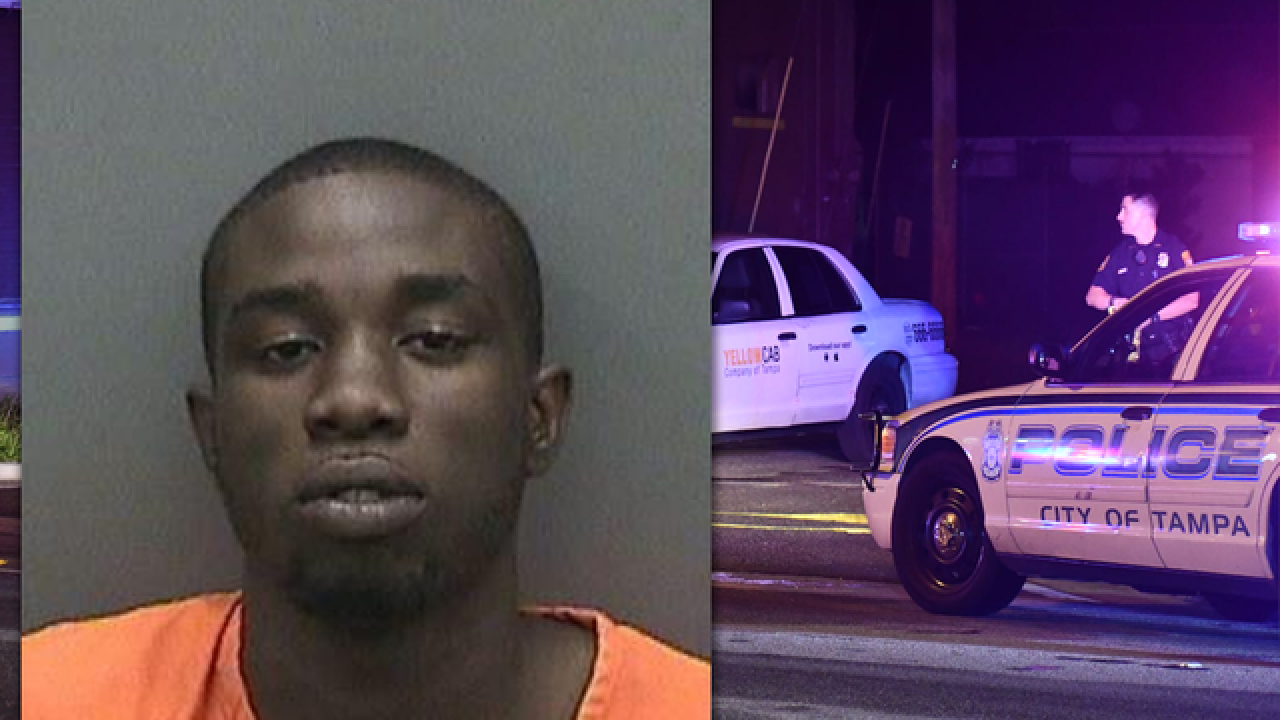 Tampa cab driver shot by attempted armed robber