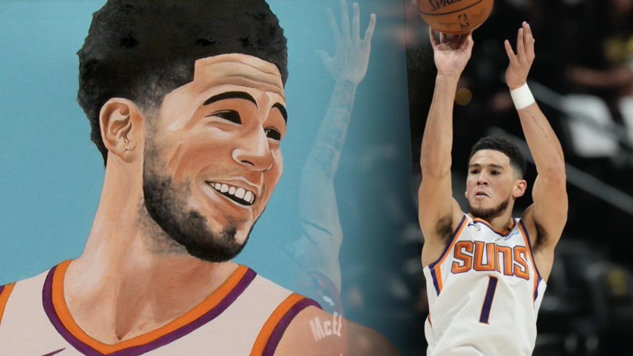 Carlos Jimenez Phoenix Suns art