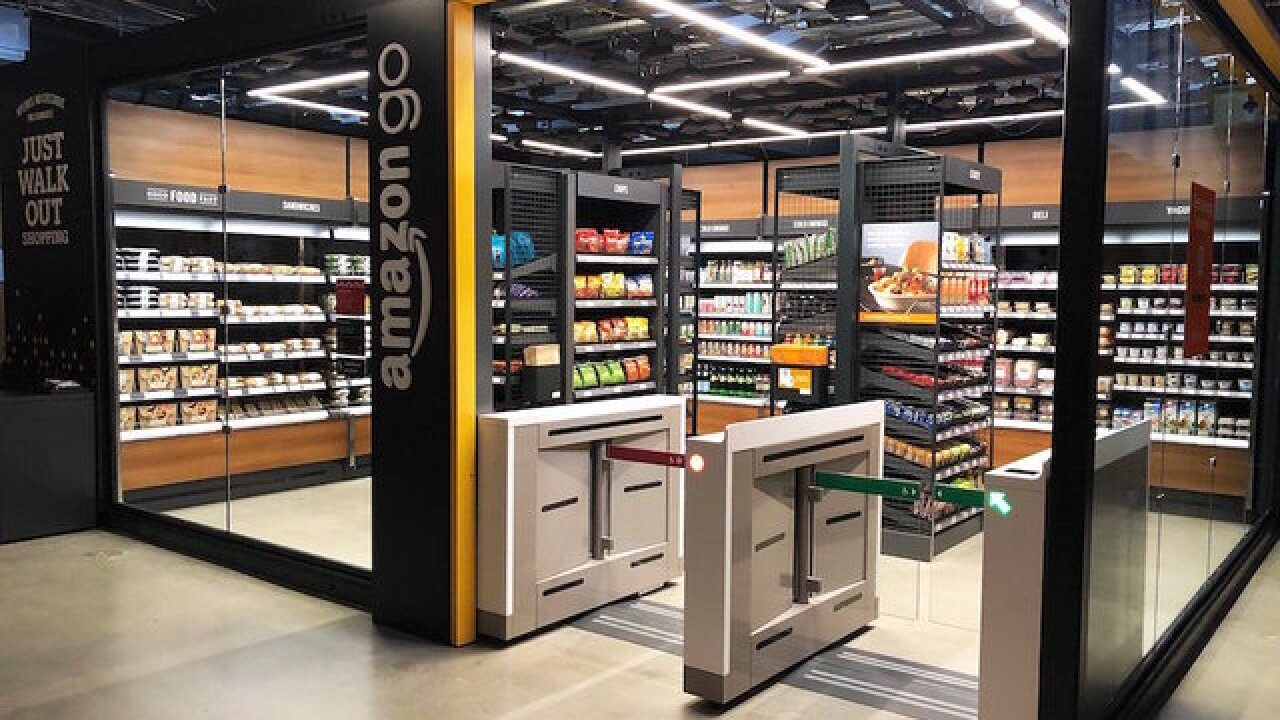 Amazon Go cashier-free stores may start opening in office buildings