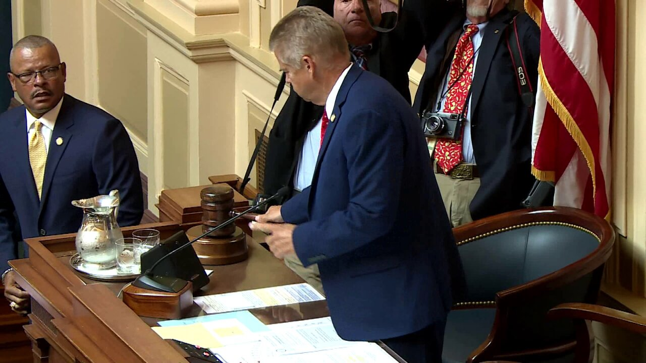 Brief special session of Virginia General Assembly cost taxpayers nearly $45K