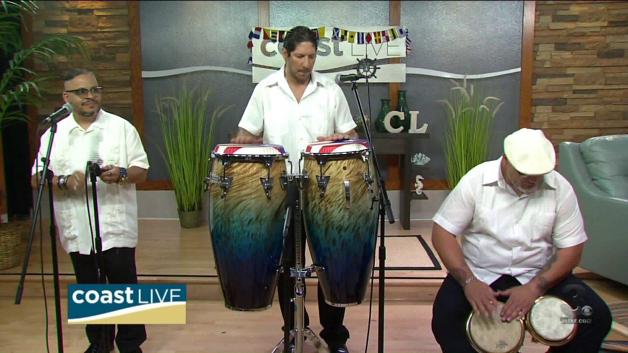 Local music spotlight with Tumbao Salsero on CoastLive