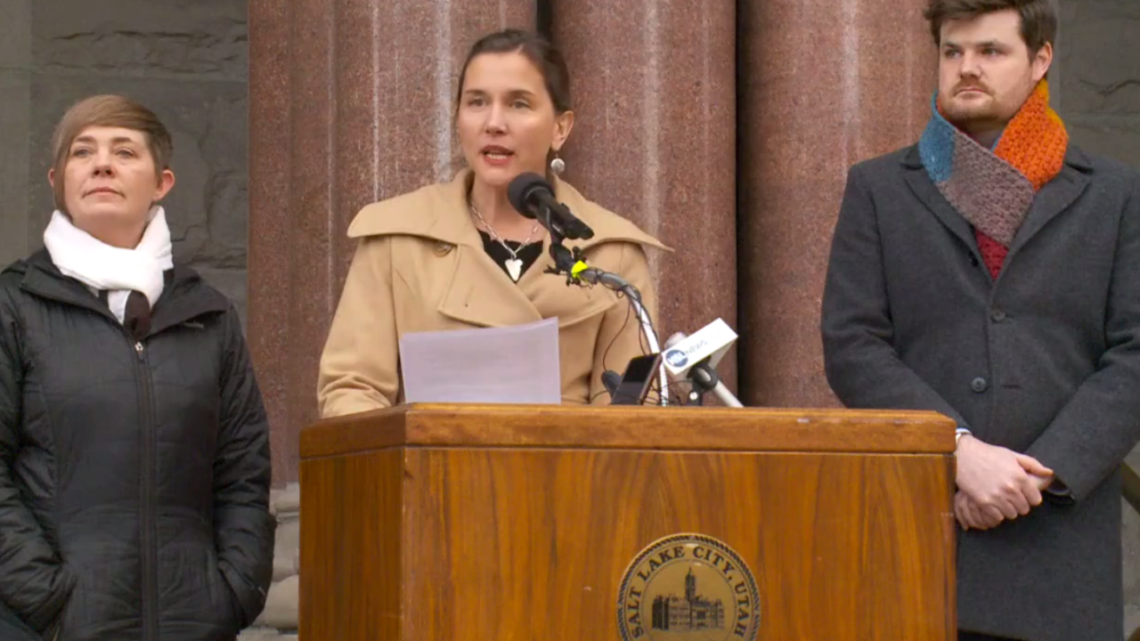 Salt Lake City leaders announce 145 new beds at temporary homeless shelter in SugarHouse