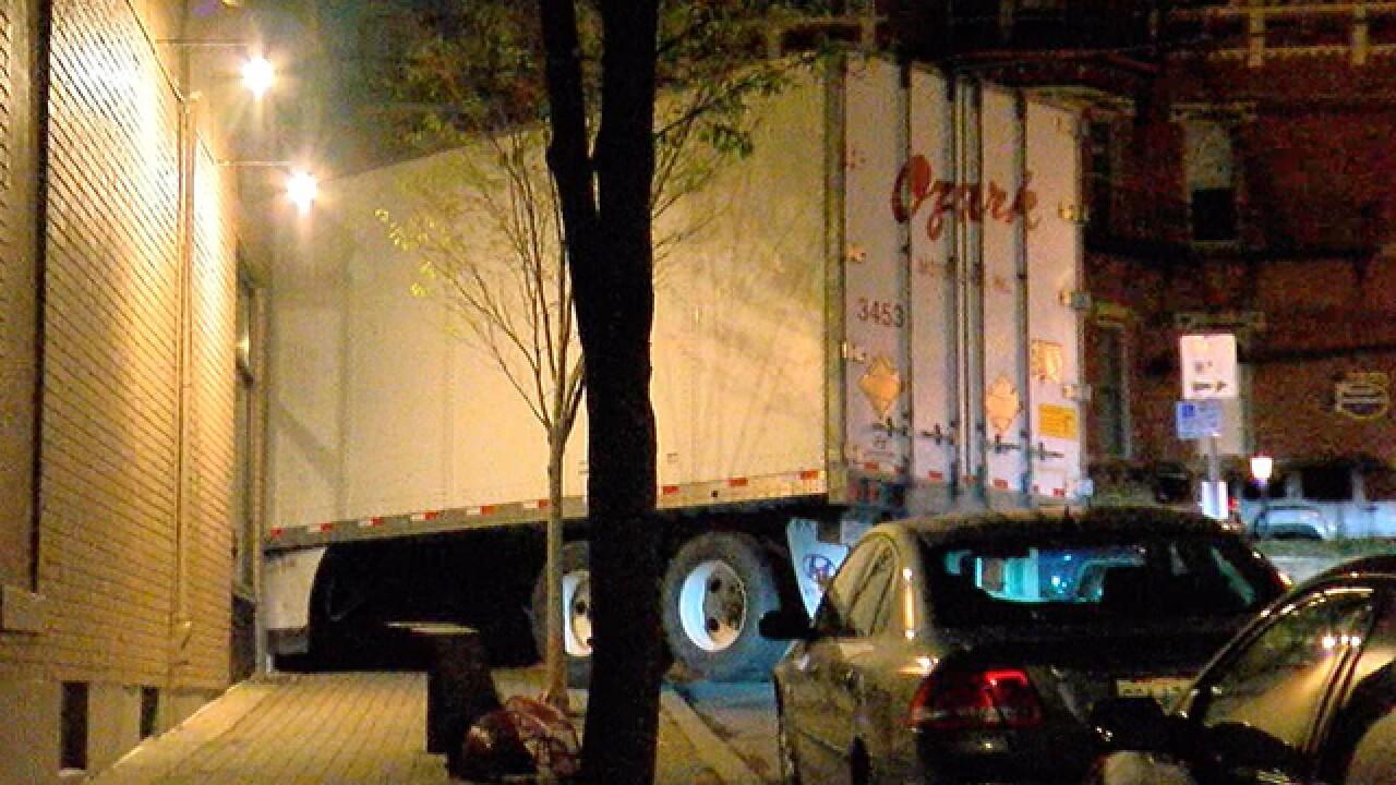 Lost semi driver crashes in Mount Adams