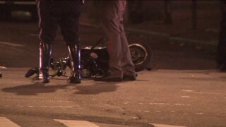 Man on moped struck by intoxicated driver, police say