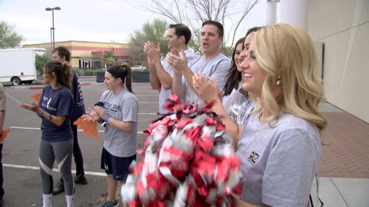 ABC15 goes for gold at Special Olympics Event!