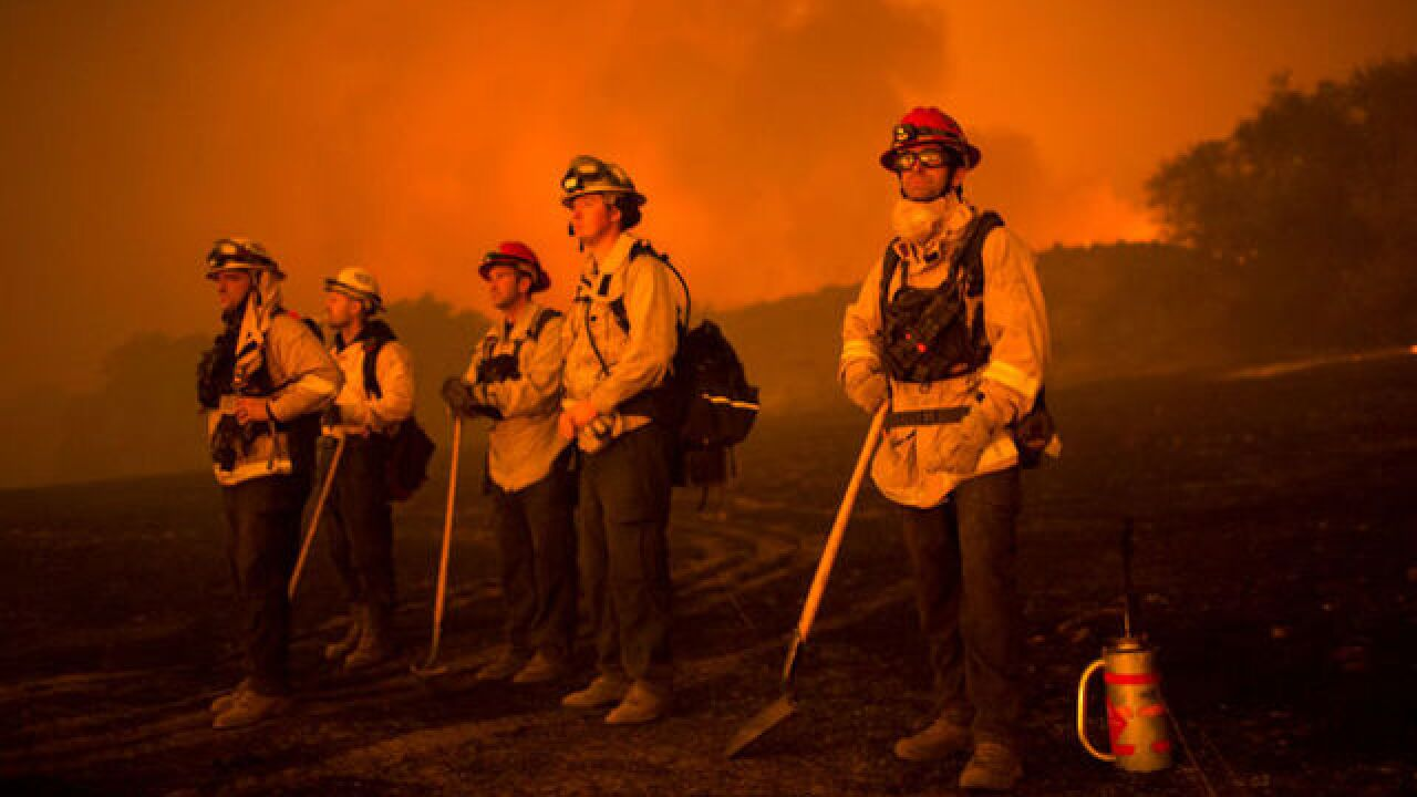 California wildfires to worsen with high winds today