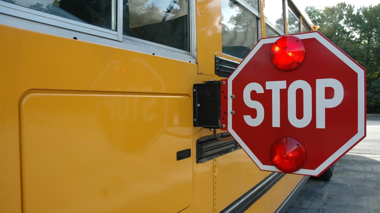 Suffolk school bus involved in crash; no injuries reported