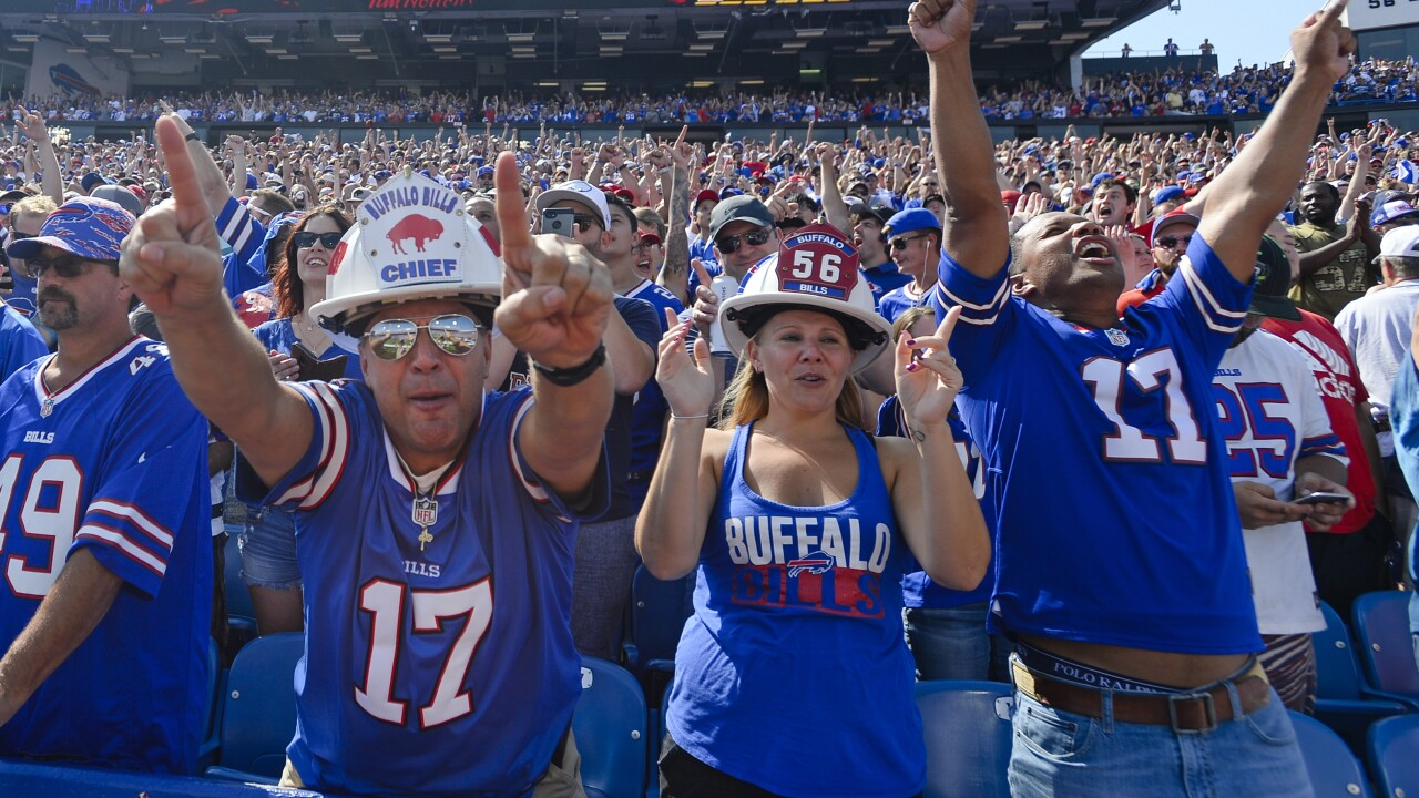 Buffalo Bills fans named best fans in the NFL according to Sunday Night Football