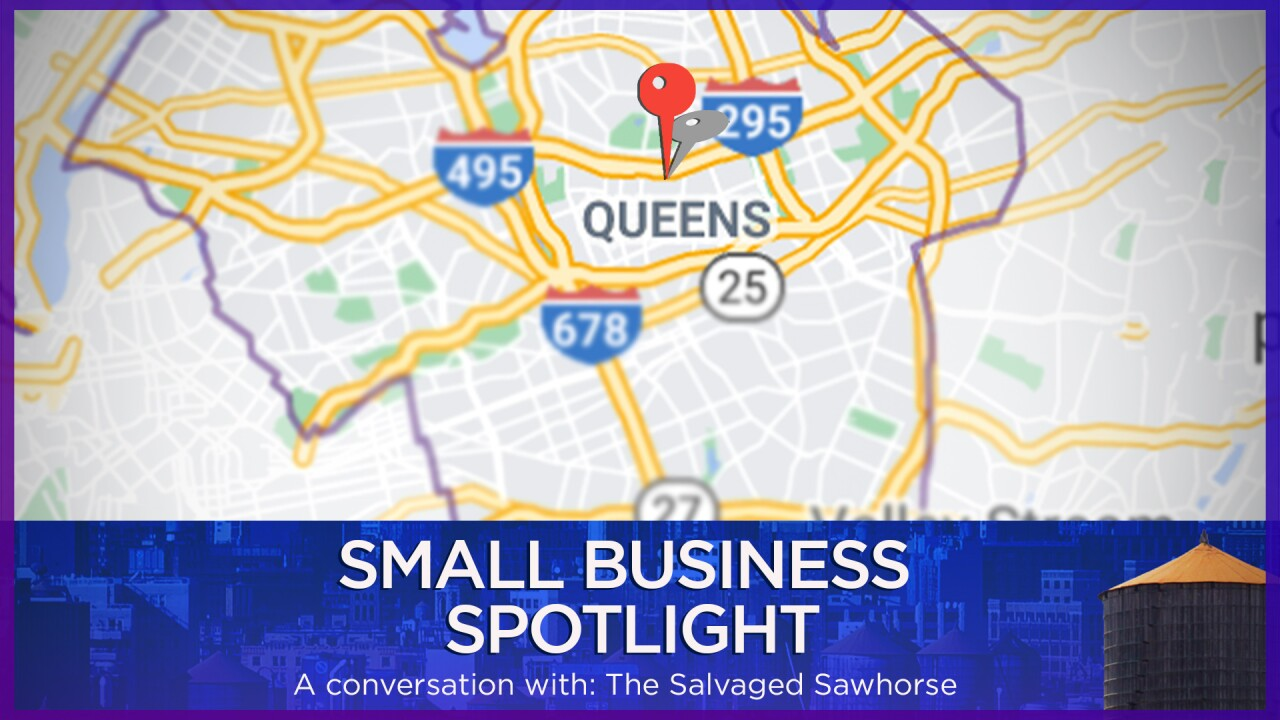Small Business Spotlight: The Salvaged Sawhorse