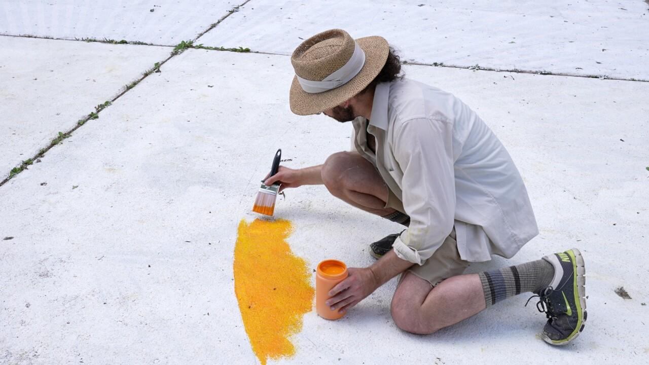 Trevor Grabill painting