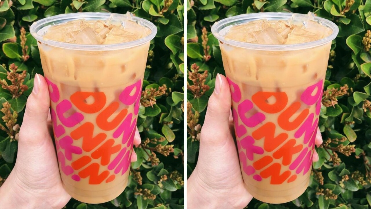 You can get free coffee from Dunkin' on Mondays for a limited time