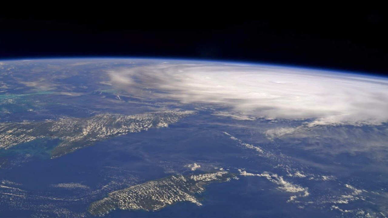 This is what Hurricane Irma looks like from space