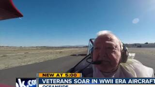San Diego veterans soar in WWII era aircraft