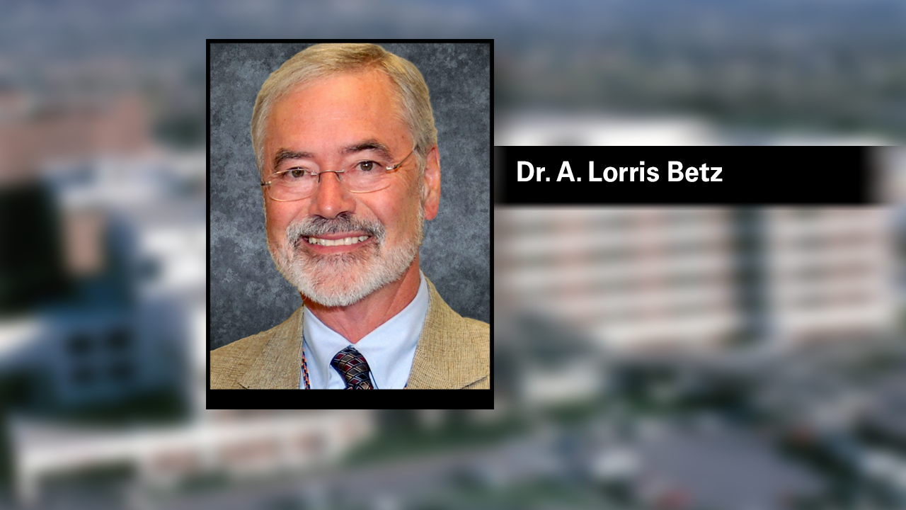 Dr. Betz appointed interim CEO of University of Utah Health after Dr. Lee resigns