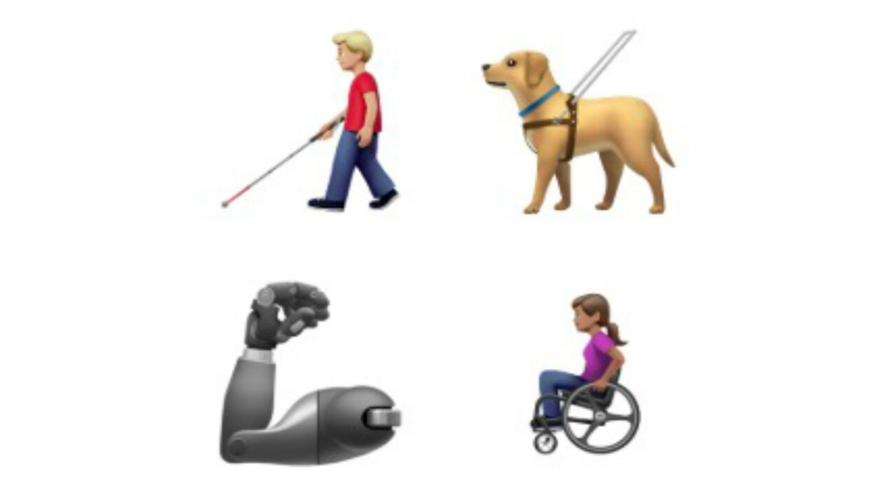 Apple unveils disability-themed emojis in push for greater diversity
