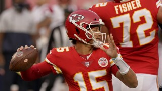 Patrick Mahomes against Patriots Defense