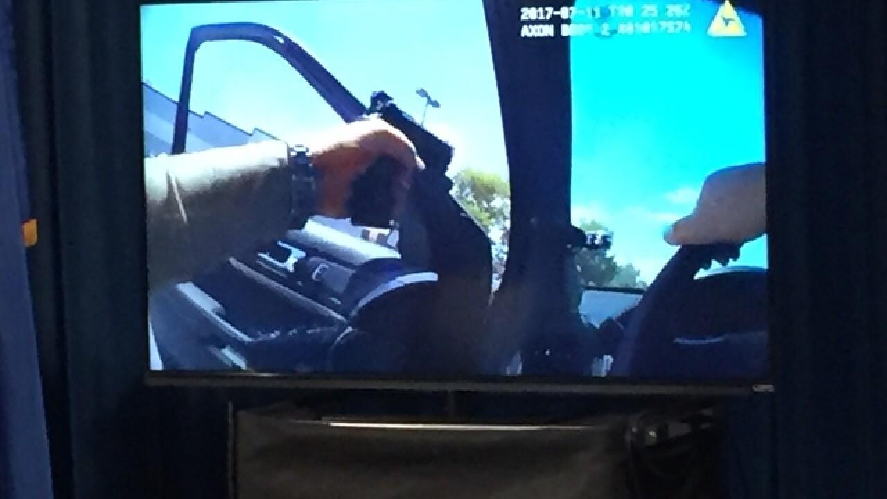 Las Vegas police shoot man Tuesday afternoon