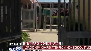 Student brings loaded gun to North Park school