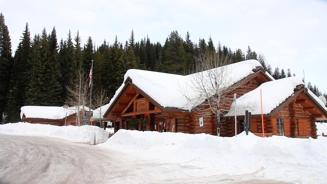 Lolo Pass Snow