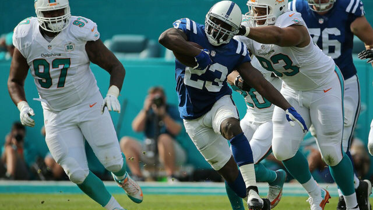 PHOTOS: Colts win against the Miami Dolphins