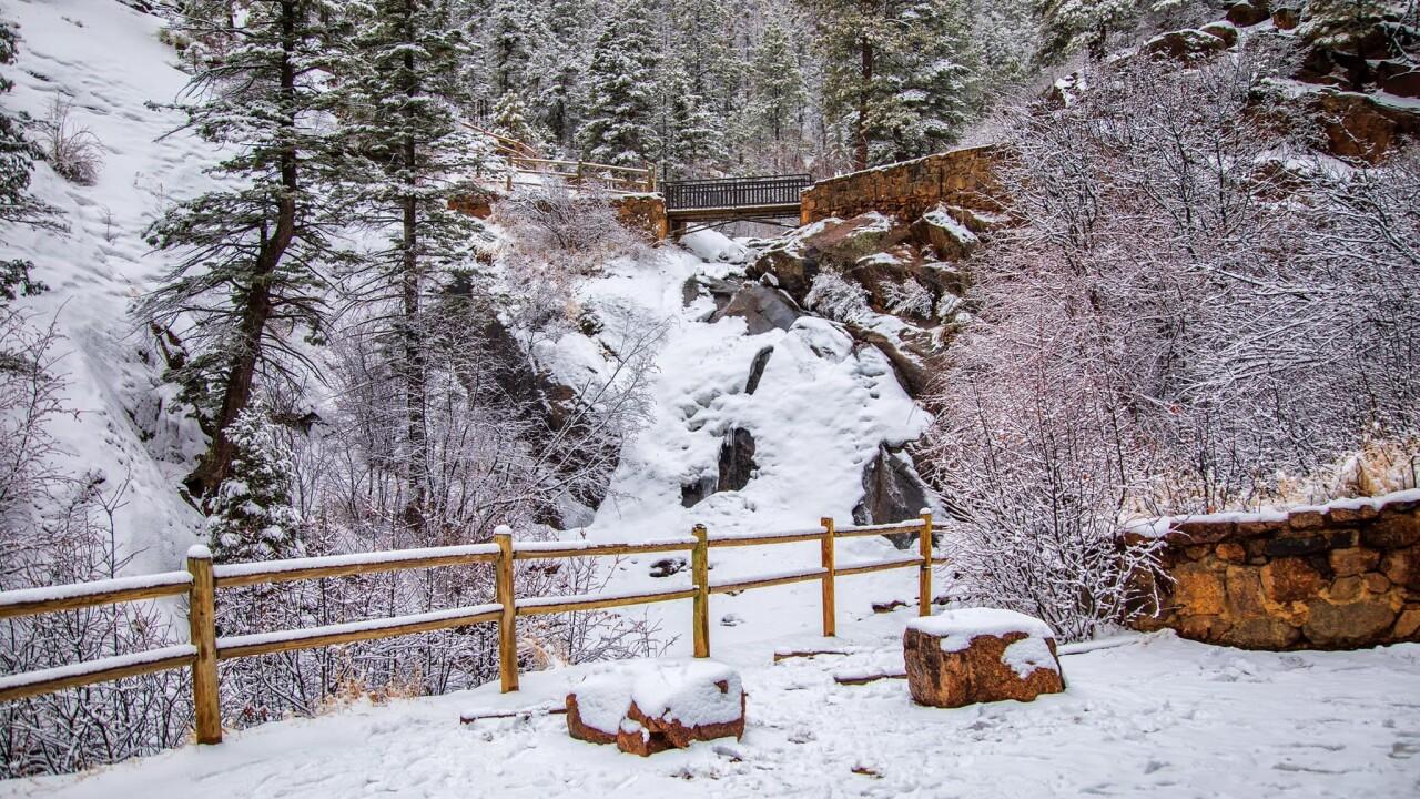 Bruce Hausknecht N Cheyenne Canyon Helen Hunt Falls