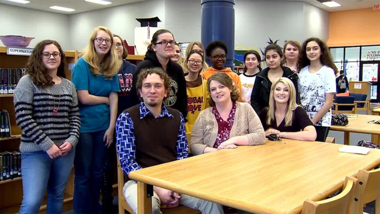 Blackman High Librarians Misti Jenkins & Brian Seadorf