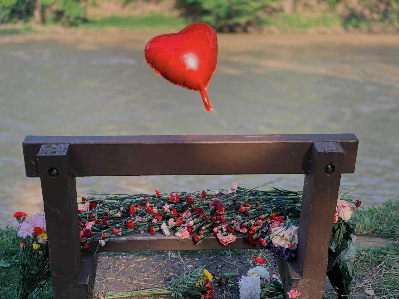 Rocky River Homicide vigil