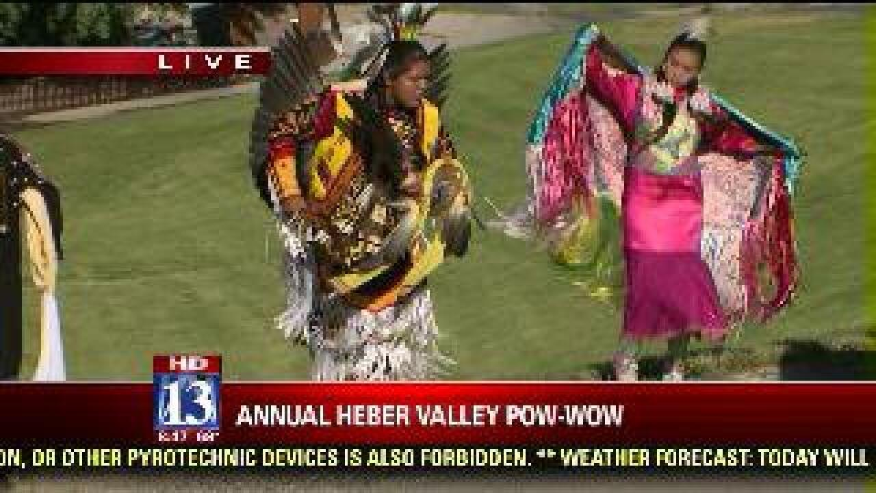 Dancing part of activities planned at pow wow