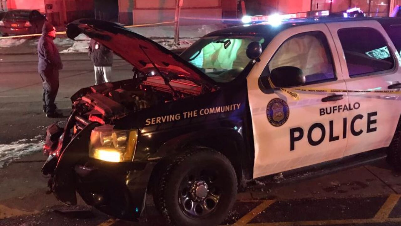 78-year-old man in custody after stealing, crashing Buffalo police