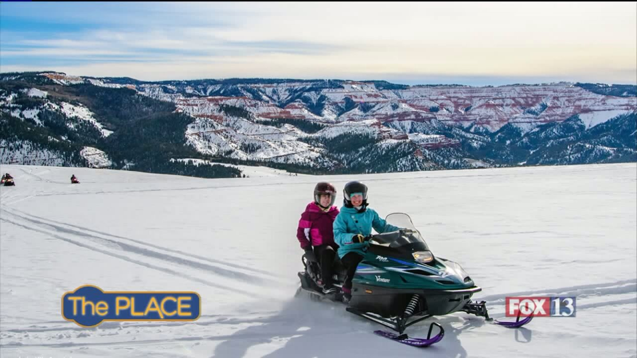 The 3 top spots for snowmobiling in Utah