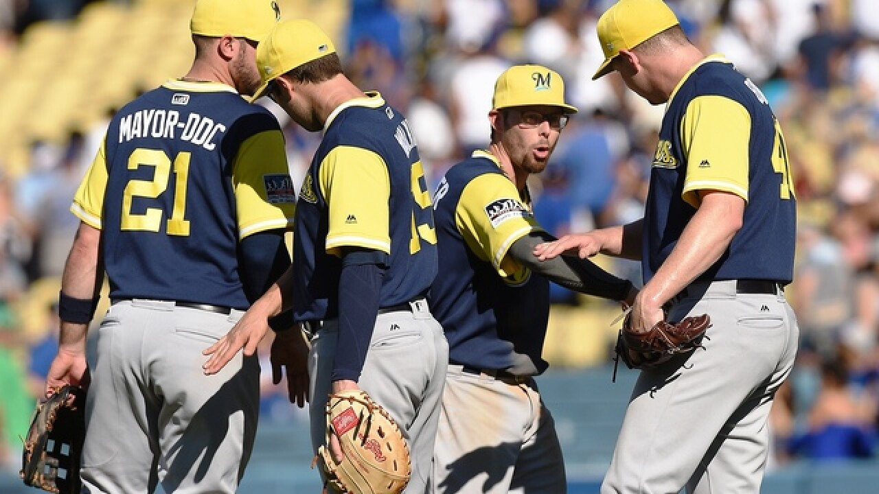 Young Brewers having a blast while contending in NL Central