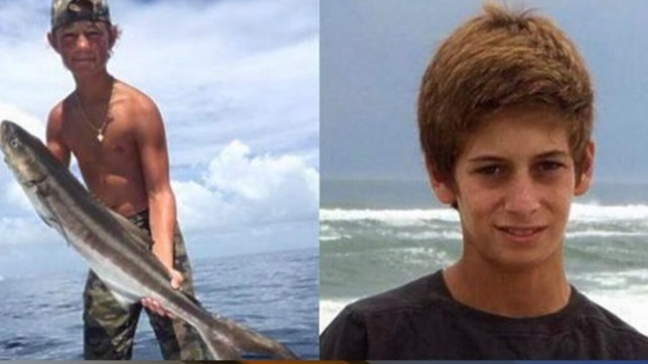 Missing Fla. teens' boat found off Bermuda coast