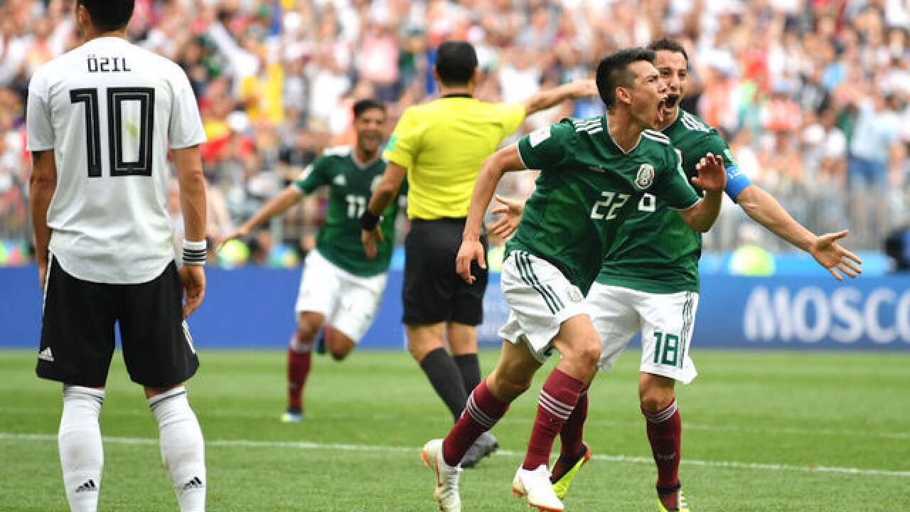 Earthquake in Mexico City possibly caused by World Cup fans' cheers
