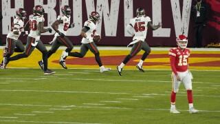 Chiefs Buccaneers Super Bowl Football