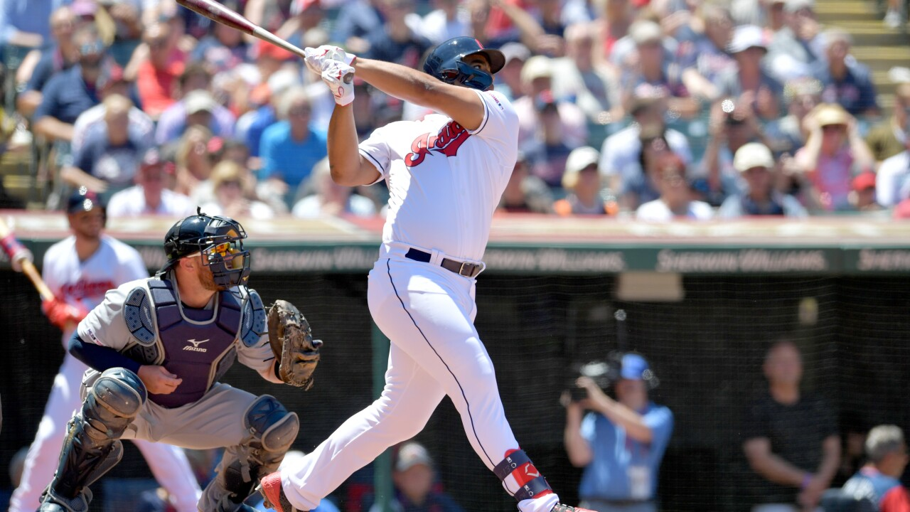 Bobby Bradley has RBI double in debut, Indians sweep Tigers