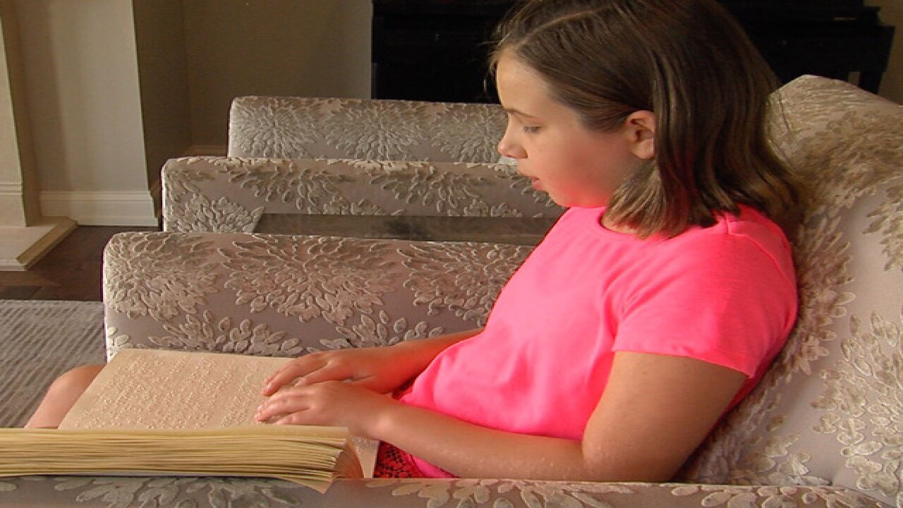 Blind student starts school year without books after district opts out of paying for them