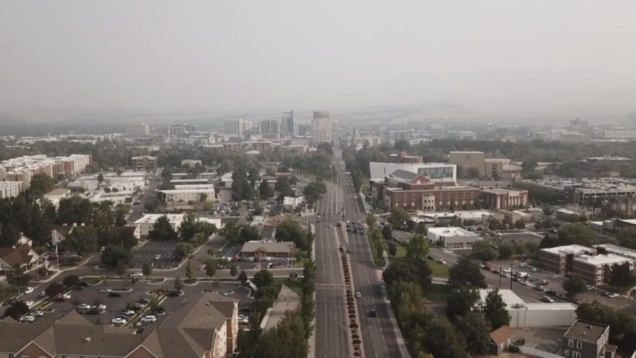 Smoke in Boise