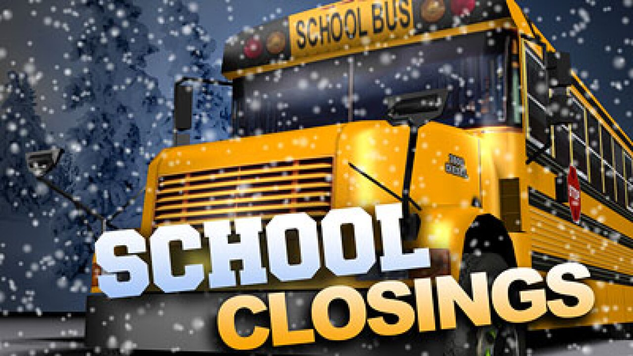 School canceled in Box Elder County Monday due to winter weather
