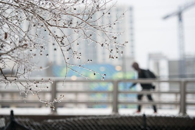 Photos: As southeastern winter storm fades, canceled flights and icy roads remain