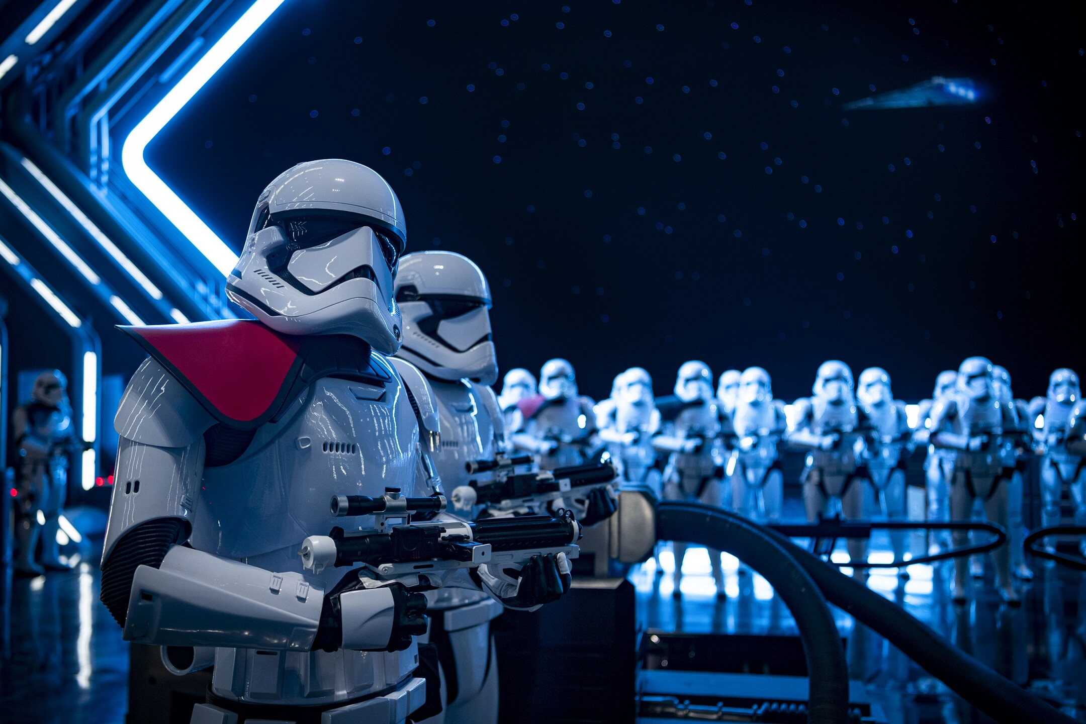 Stormtroopers in Star Wars: Galaxy's Edge