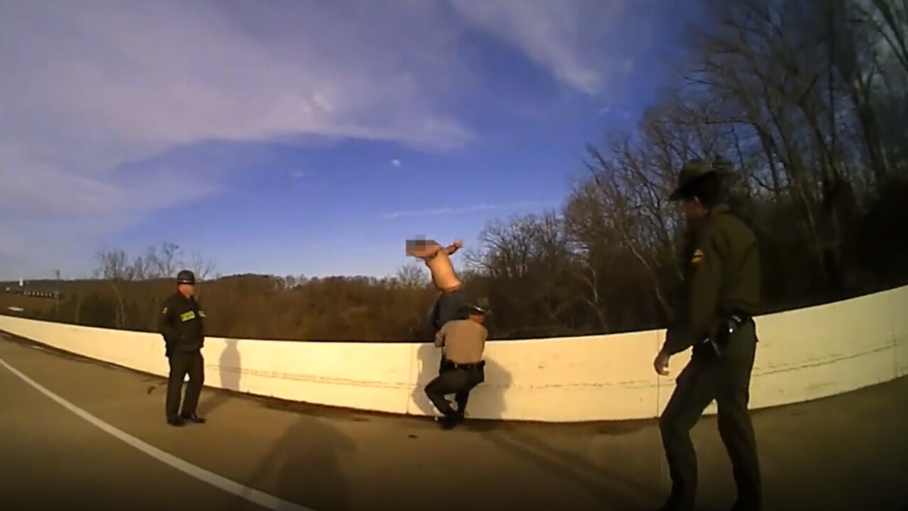 Deputy Saves Man