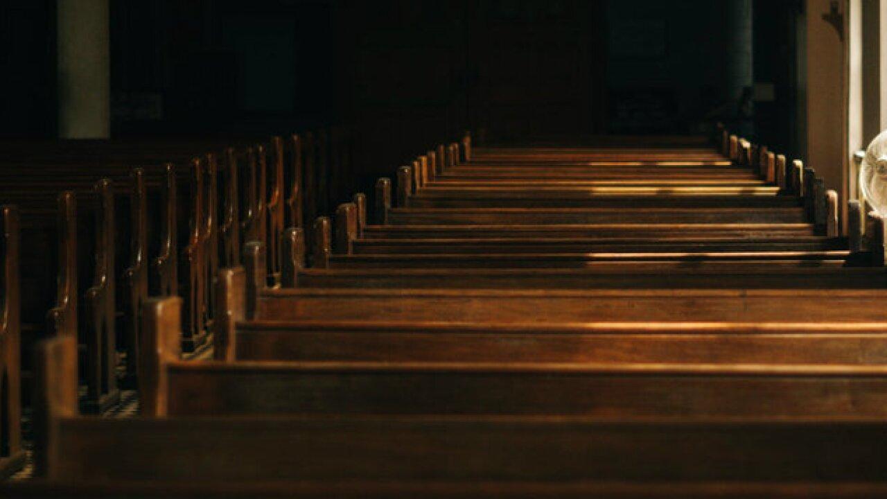 church pew seat
