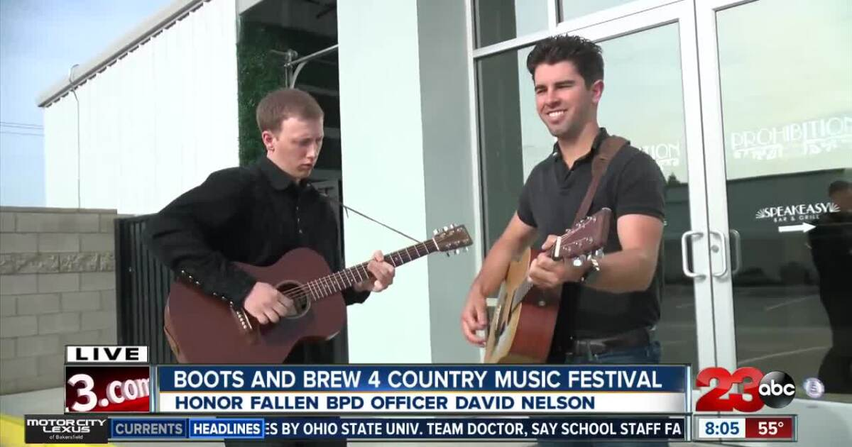 Boots and Brew to Honor fallen BPD officer with country music festival