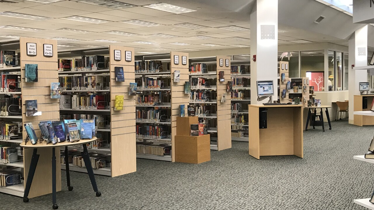 The 'new and improved' Kempsville Area Library reopens after 6 months ofrenovations